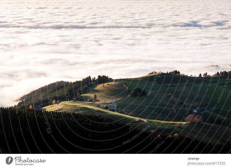 Insel Natur schön Pflanze Sommer Erholung Landschaft Wolken Umwelt Wiese oben außergewöhnlich Horizont Stimmung Wetter Klima Perspektive