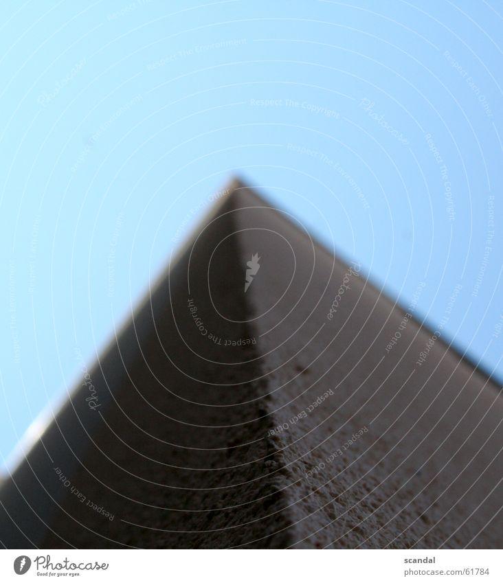 city-pyramid Wand Mauer Ecke Himmel Pyramide rau