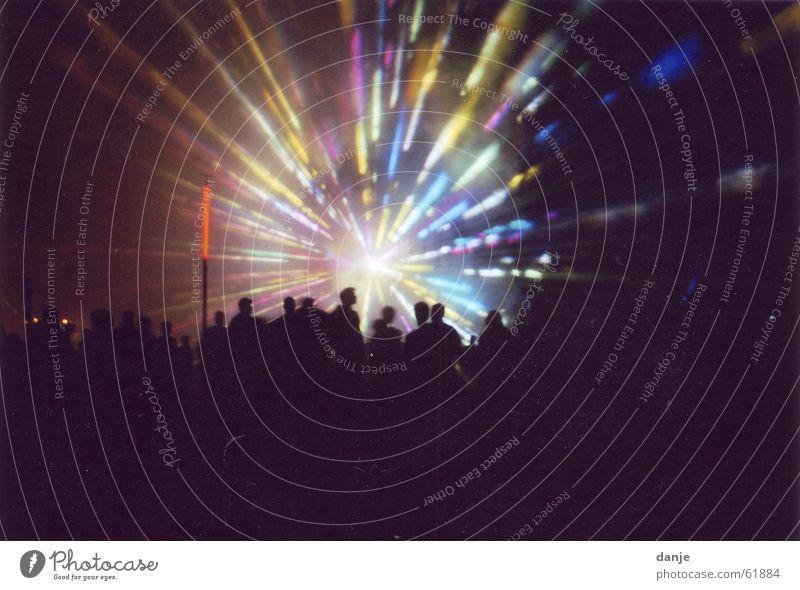 fusion Licht Mensch Nacht Musik