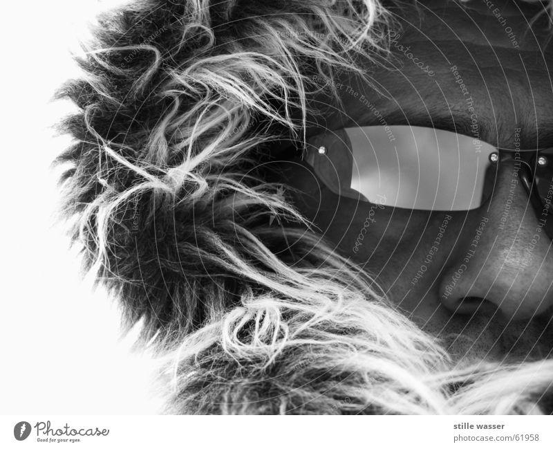 FROSTI_2 Winter kalt Wind Nase Frost Brille weich Sturm Fell Mütze