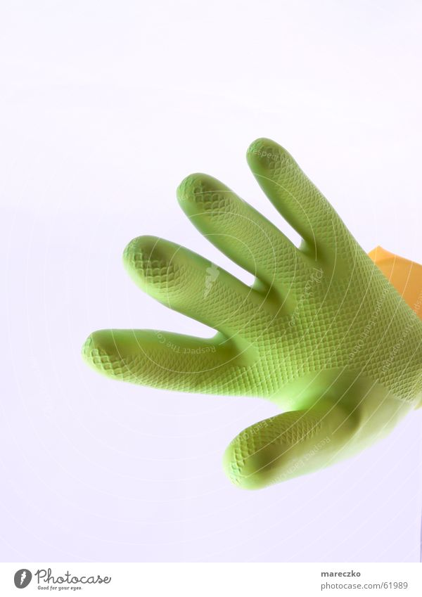 Angriff Hand grün Finger 5 Außerirdischer Angriff treten