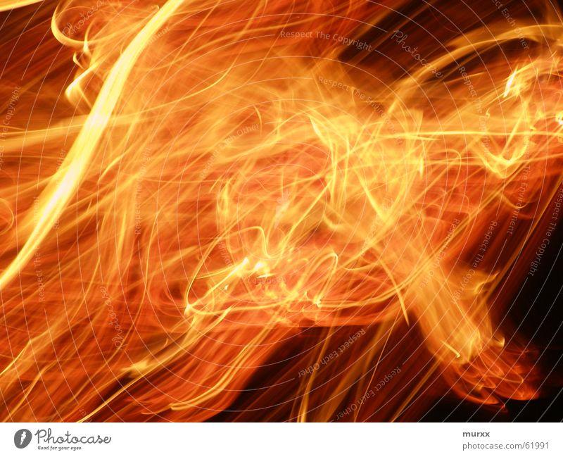 Feuer Bewegung Wärme hell Brand Geschwindigkeit Feuerstelle