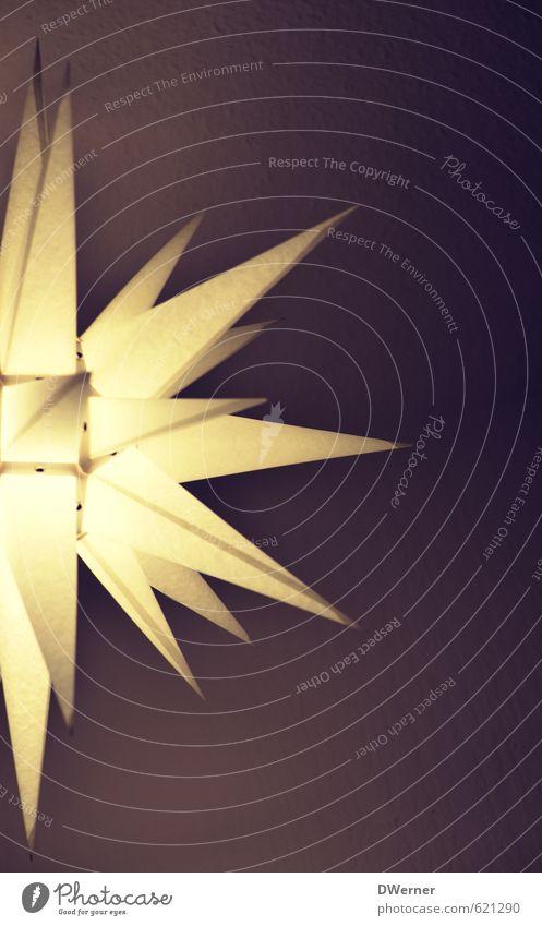 Star Weihnachten & Advent weiß Gefühle Innenarchitektur Zeit Lampe hell Stimmung Lifestyle Design leuchten Dekoration & Verzierung Fröhlichkeit Zeichen Glaube
