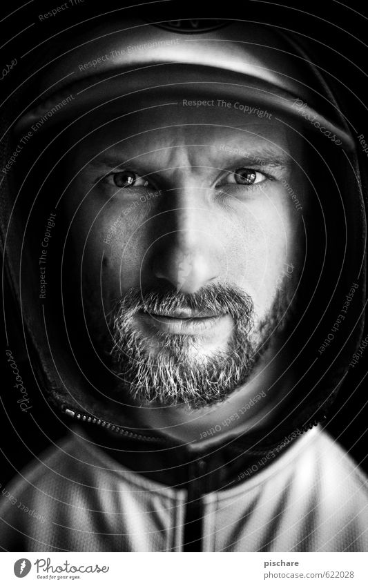 Beardy Photography Mann dunkel Gesicht Erwachsene maskulin Coolness Abenteuer Bart Mütze eckig Vollbart 30-45 Jahre