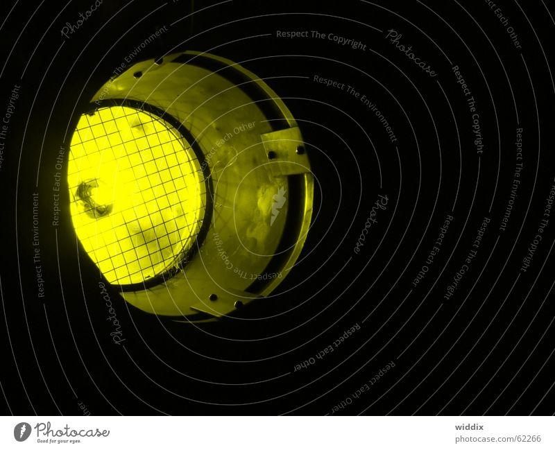 spotlight gelb Scheinwerfer