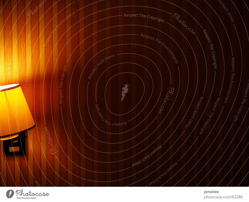 advance romance rot ruhig gelb Lampe Wand Wärme Raum Beleuchtung Wohnung Romantik Physik Tapete