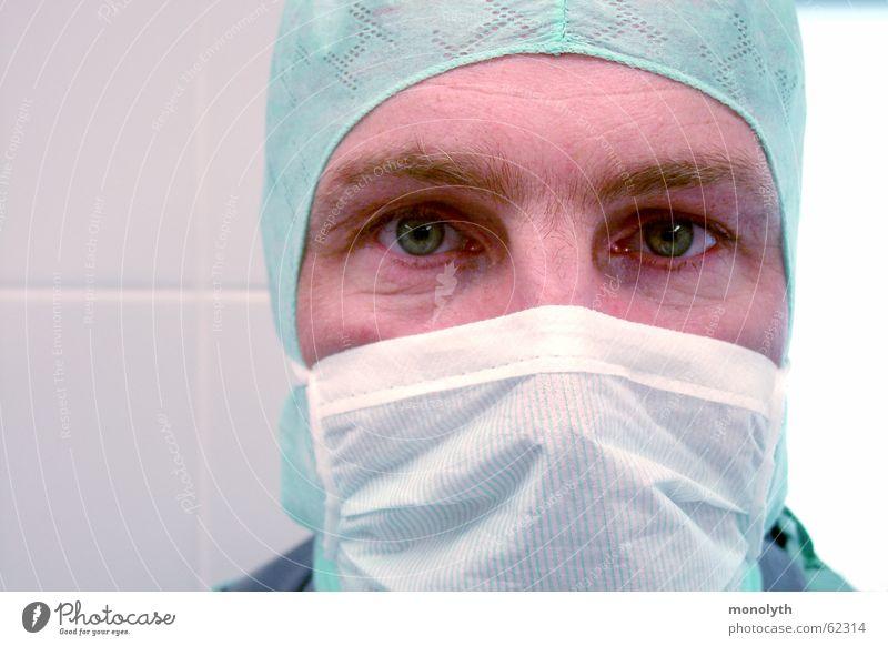 Nach der OP Gesundheit Hoffnung Gesundheitswesen Arzt Mundschutz Operation Bekleidung Niere Chirurg