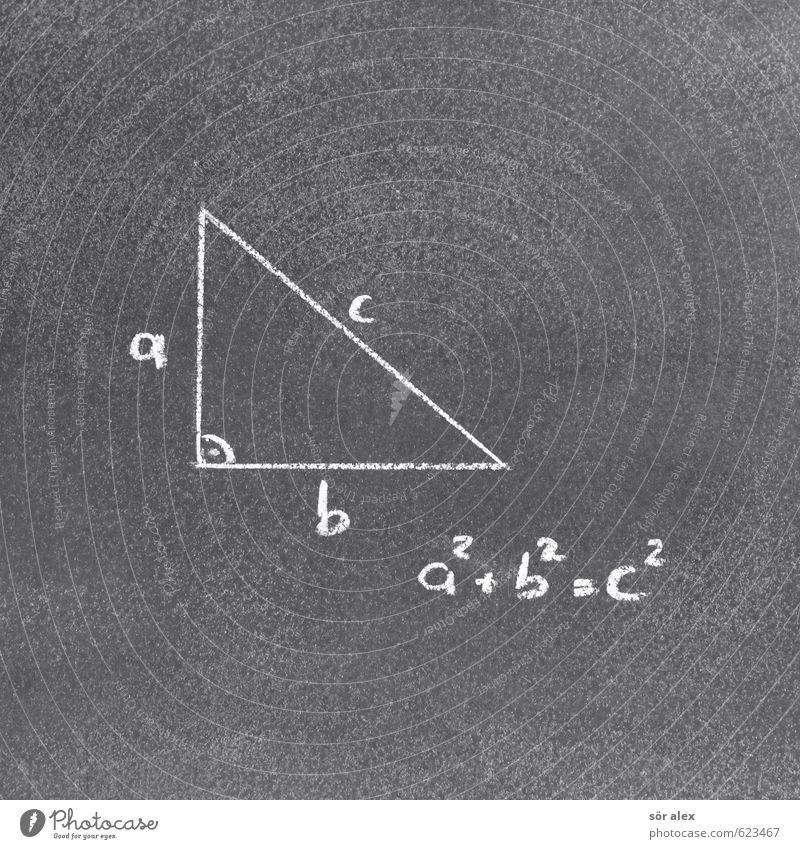 mathematischer Satz Schule Schriftzeichen lernen Studium Ziffern & Zahlen Zeichen Bildung Beruf Erwachsenenbildung Wissenschaften Tafel Konstruktion Geometrie