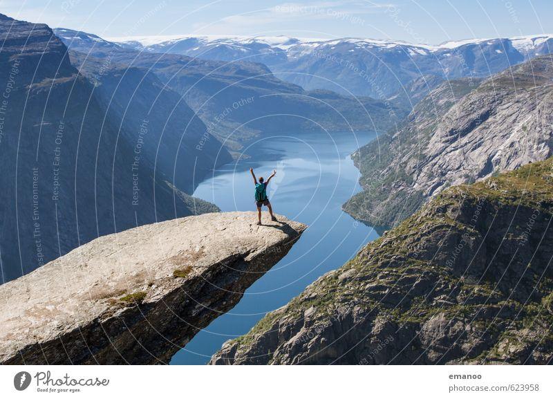 |1000| geschafft! Lifestyle Stil Freude Ferien & Urlaub & Reisen Abenteuer Ferne Freiheit Expedition Sommer Berge u. Gebirge wandern Mensch Junge Frau