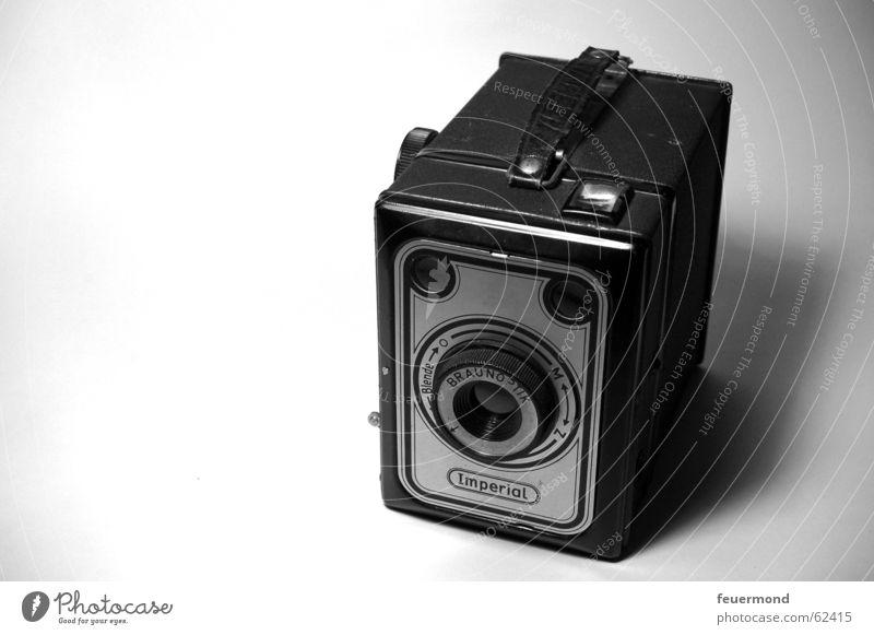 altes Schätzchen Technik & Technologie Fotokamera Vergangenheit Fotograf Fotografieren Blende staubig