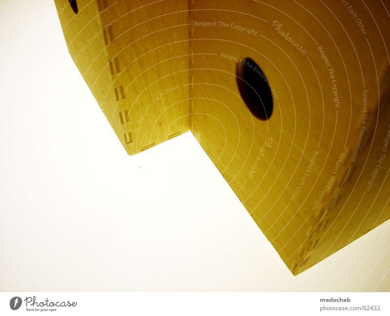 ORDNER | büro office gelb braun weiß Unterlage Arbeit & Erwerbstätigkeit Studium Student Industrielandschaft Ladengeschäft wichtig sortieren Holz Stock Produkt