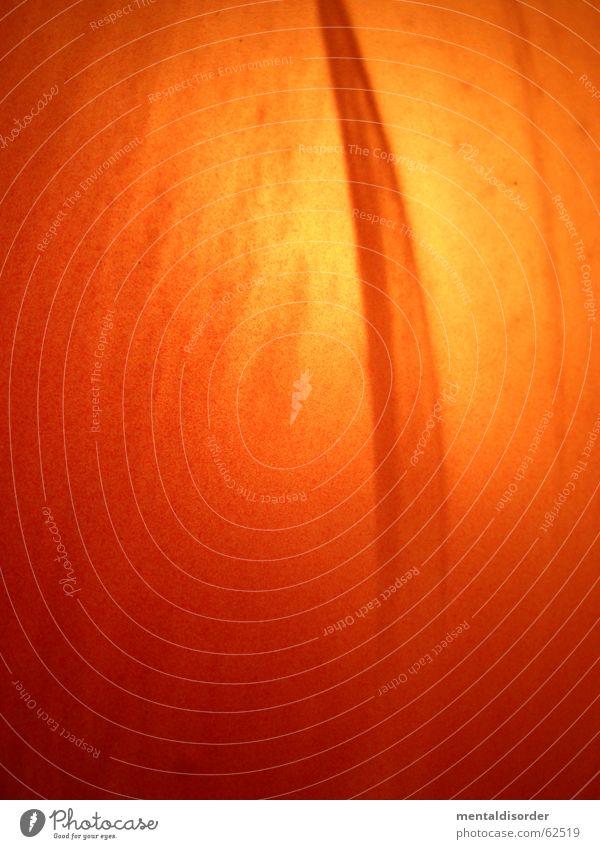 es ist orange gelb Lampe Stil Wärme orange Hintergrundbild Design Ball rund weich Physik Regenschirm Kugel durchsichtig Abdeckung