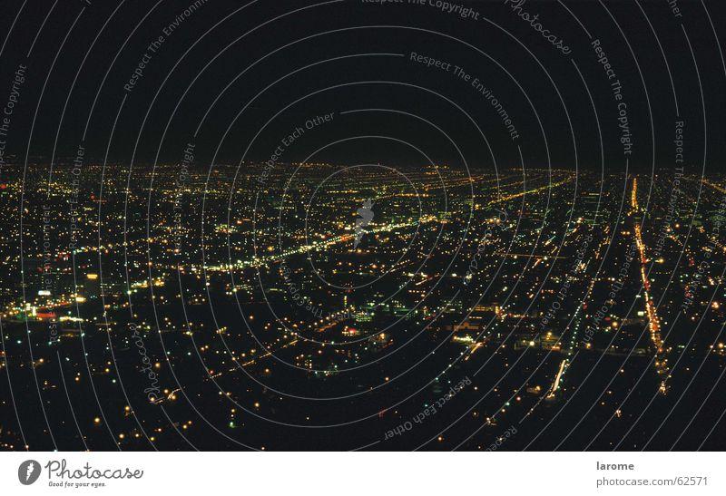 los angeles Stadt Nacht Kalifornien Licht Straße USA