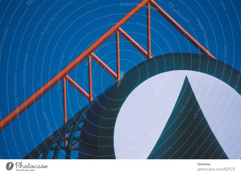 logo Himmel Symbole & Metaphern Stahlträger Werbeschild