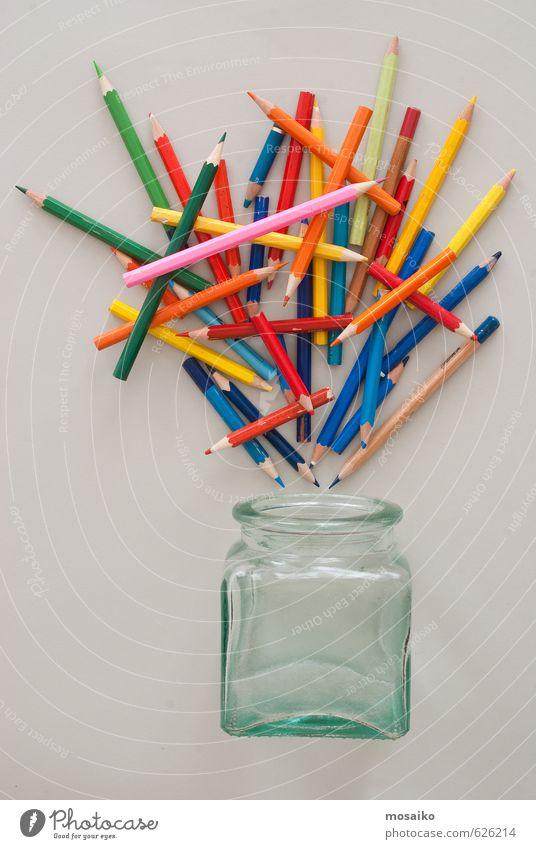 Farbe sprechen Kunst Schule Business Glas lernen Studium Idee Bildung Gemälde Team Wissenschaften Student Sitzung Stress