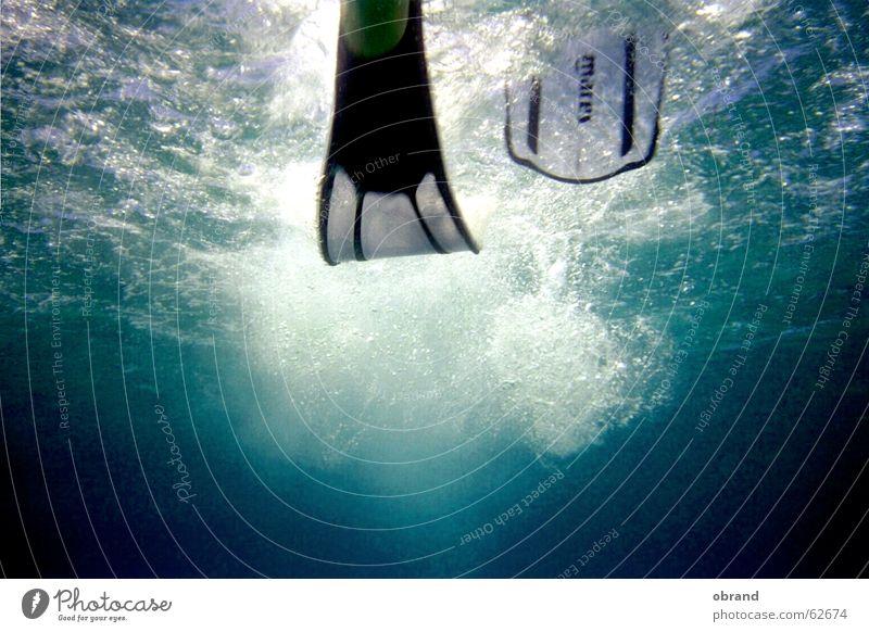 Flossenschlag Wasser Schwimmhilfe