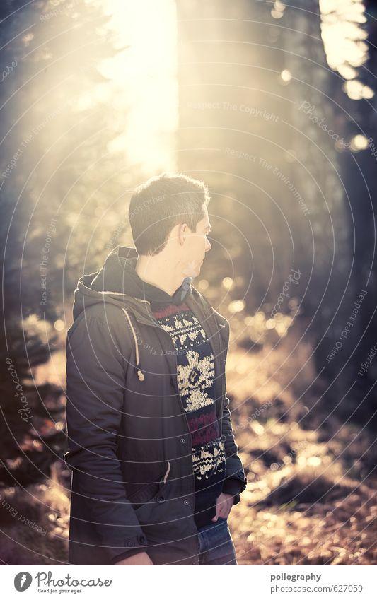 Kristof (7) Mensch maskulin Junger Mann Jugendliche Erwachsene Leben Körper 1 18-30 Jahre Umwelt Natur Landschaft Pflanze Wolkenloser Himmel Sonne Sonnenlicht