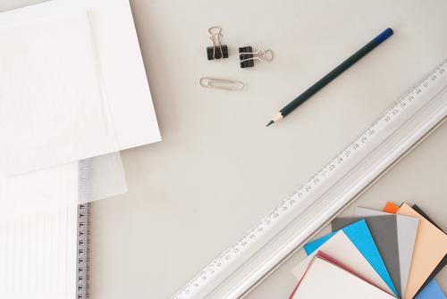 Architektur grau Mode Schule Arbeit & Erwerbstätigkeit Business Büro lernen einfach Papier planen Idee Bildung Beruf Team rein