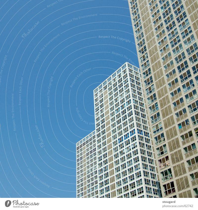 Building Himmel Stadt Business Arbeit & Erwerbstätigkeit Hintergrundbild Quadrat China Peking Asien