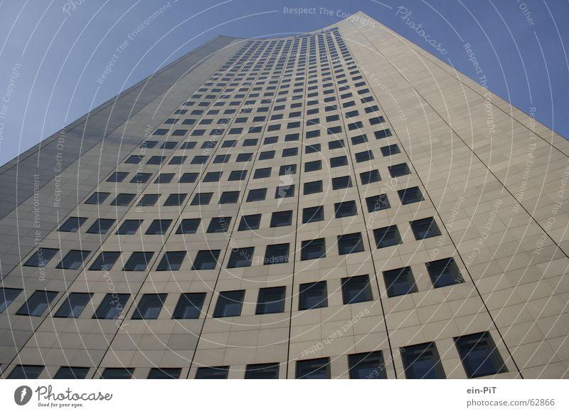 Der Tower zu Leipzig MDR Hochhaus Fenster mdr tower City-Hochhaus Leipzig