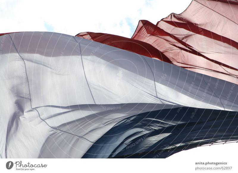 Frankreichflagge weiß blau rot Europa Fahne Franzosen