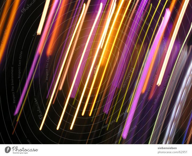 Nachtlichter Illumination dunkel Hintergrundbild erleuchten hell Licht glänzend Beleuchtung strahlend Farbschicht lichtvoll grell Farbton Farbenmeer