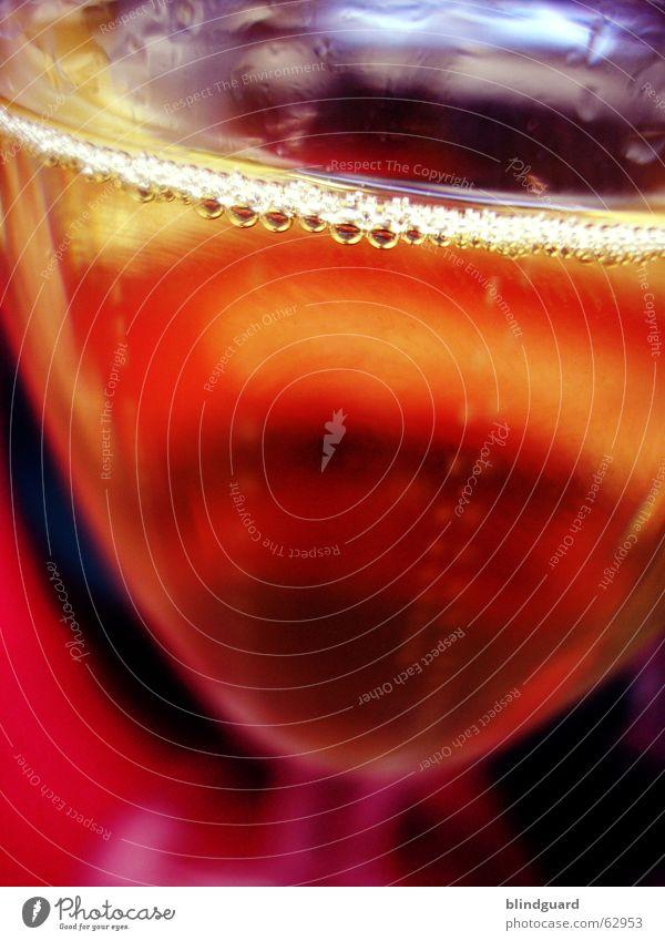 Perlenkette Farbe Bewegung Feste & Feiern Glas nass glänzend Wassertropfen Fröhlichkeit Getränk trinken Bar Gastronomie Silvester u. Neujahr Restaurant feucht blasen