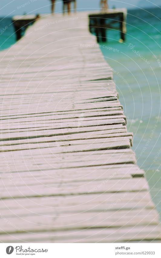 noch fünf Schritte Ferien & Urlaub & Reisen Sommer Meer Erholung Strand Ferne Küste Freiheit Schwimmen & Baden See Wellen Tourismus Schönes Wetter Insel Ausflug