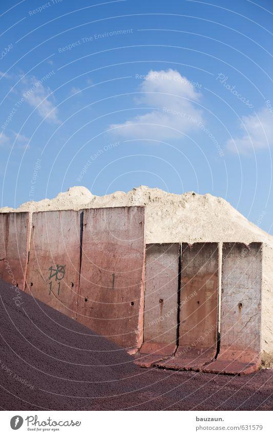 der berg und der prophet. Baustelle Fabrik Landwirtschaft Forstwirtschaft Industrie Handel Erde Sand Himmel Sonne Frühling Sommer Schönes Wetter Hafenstadt