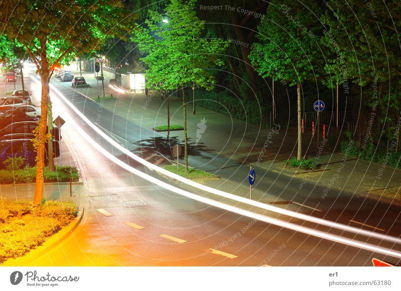 lichter Baum Straße Lampe PKW