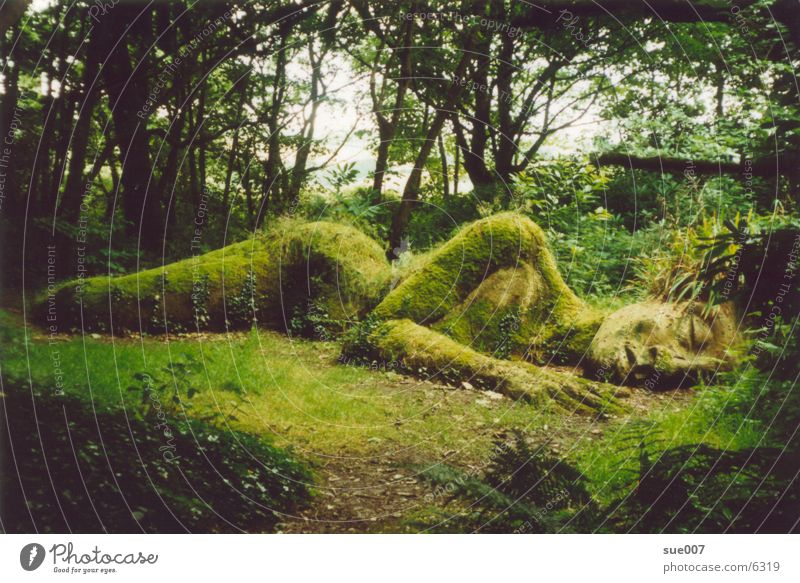 The Mudmaid Natur Kunst Garten Park Skulptur Gartenkunst