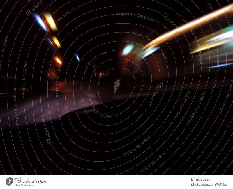The Speed Of Light fahren Nacht Lampe Licht Sportveranstaltung PKW lich Rasen Straße driving night light