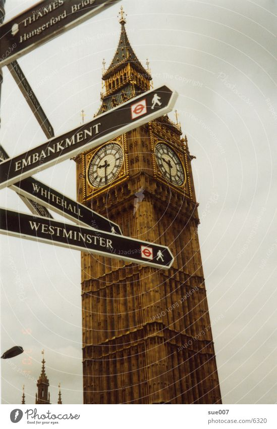 Big Ben London Stadt England Architektur