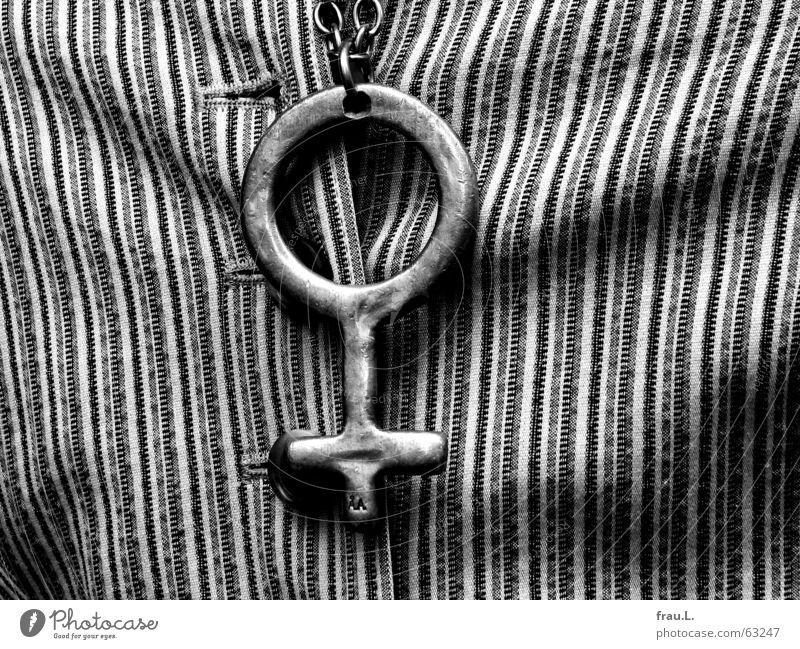 biologisch weiblich Weste gestreift Knöpfe Knopfloch Frau hässlich schick Reichtum Bekleidung modegag Kette trendy Falte Gefolgsleute lustig gestylt Mode
