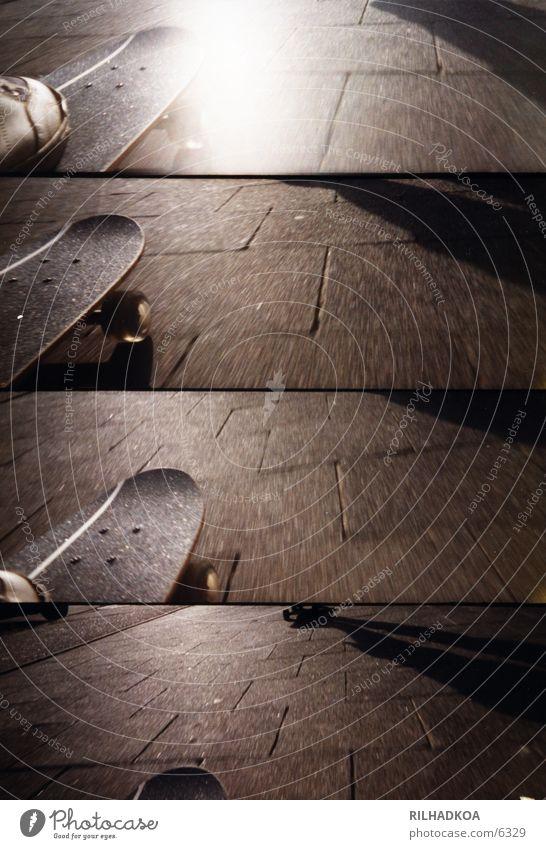 skate or die! Sommer Sport Geschwindigkeit Skateboarding Funsport Lomografie Extremsport