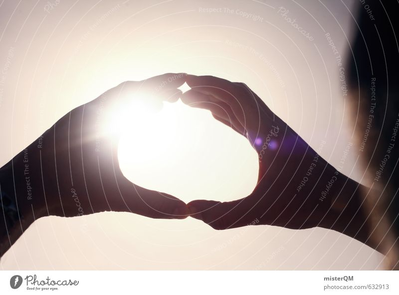 I.love.FV LI Kunst ästhetisch Zufriedenheit Konzentration stagnierend Ferien & Urlaub & Reisen Urlaubsstimmung Hand festhalten sommerlich Sommer Gegenlicht
