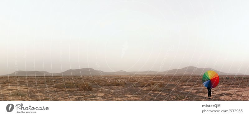 I.love.FV XLIX Einsamkeit Freiheit Horizont Kunst elegant Idylle Zufriedenheit Design ästhetisch Abenteuer einzigartig Kreativität Schutz Idee Gemälde Wüste