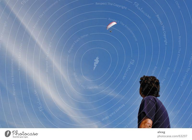 Da würde ich auch gerne hin... träumen fliegen Fallschirm Gleitschirm Motorschirm