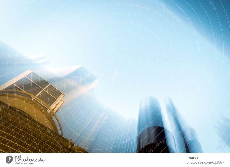 Wachstum Wirtschaft Industrie Energiewirtschaft Unternehmen Bauwerk Gebäude Architektur bauen modern verrückt Fortschritt Geschwindigkeit Krise Perspektive
