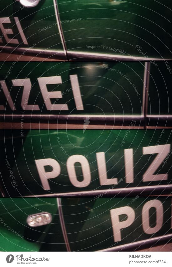 Lomopolizei PKW Gewalt Amerika Lomografie Warnleuchte