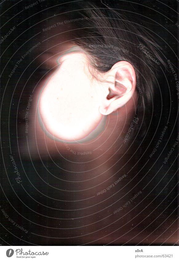 scanning II Haare & Frisuren Mund Haut Ohr bleich Hals Kinn
