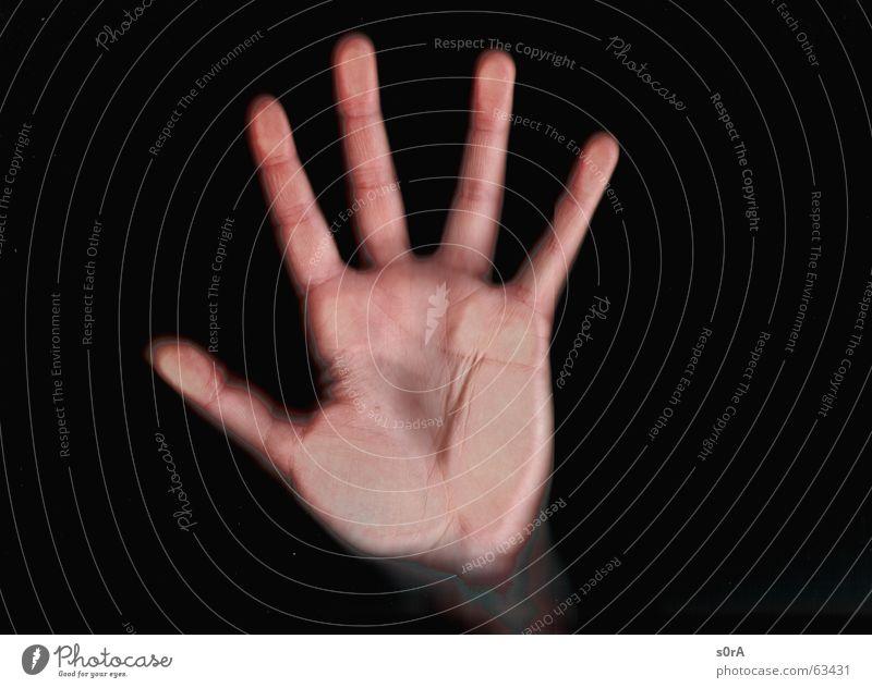 scanning III Hand Haut Finger