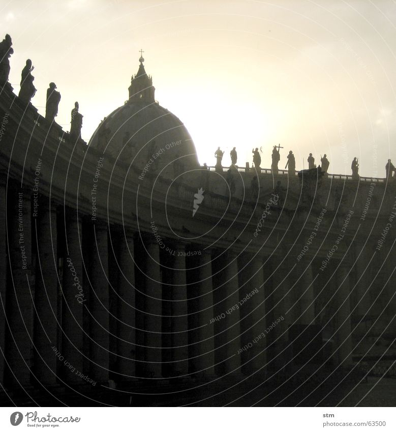 roma capoccia 6 Sonne Regen Vatikan Rom Kuppeldach Petersdom