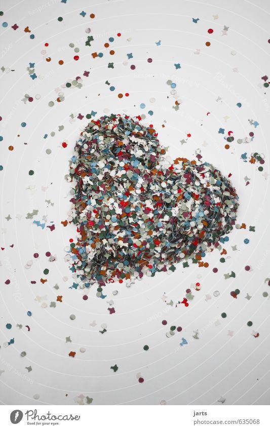 kommt von herzen Freude Liebe Glück Fröhlichkeit Herz Romantik Verliebtheit Konfetti