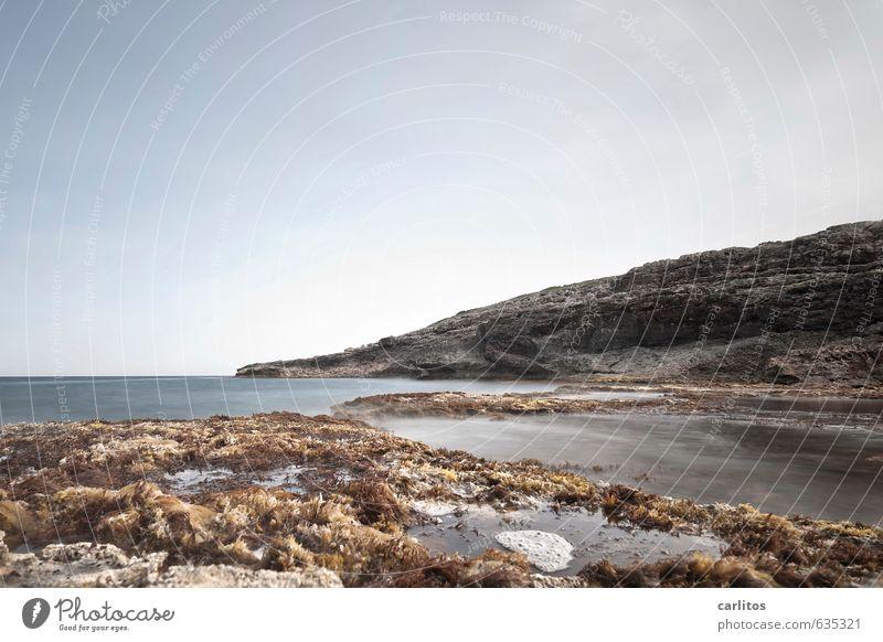 ... Natur Wasser Sommer Meer Einsamkeit ruhig Ferne Umwelt Wärme Küste Denken Horizont Luft Erde Insel ästhetisch