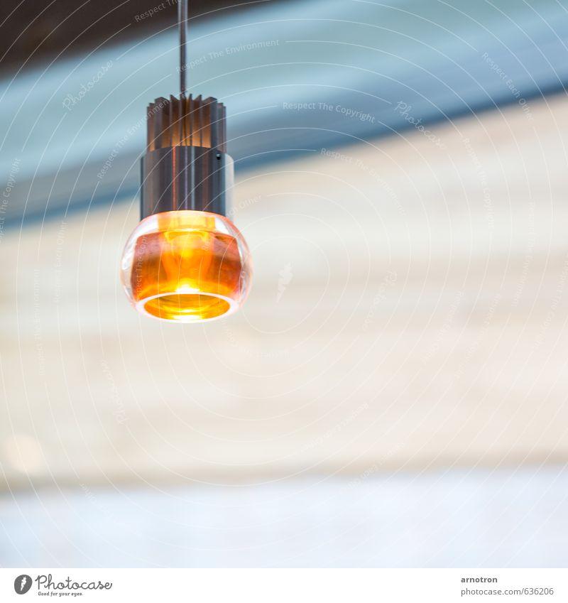 Bernsteinlicht - IGS 2013 Haus gelb Gebäude Lampe Metall orange leuchten Gold türkis hängen Glühbirne