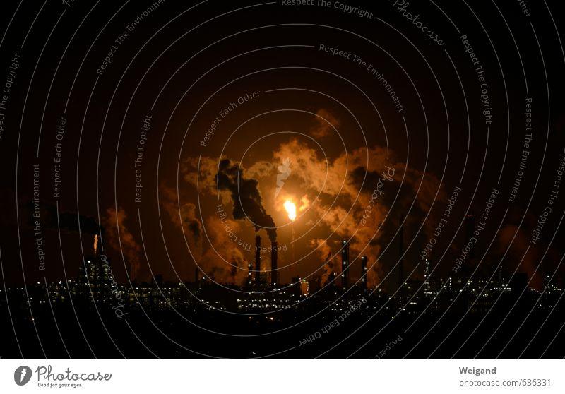Familie Feuerstein II Himmel gelb Industrie Brand Wirtschaft Gewalt Abgas Unternehmen Aggression Flamme Erdöl Umweltverschmutzung Industrieanlage Hass