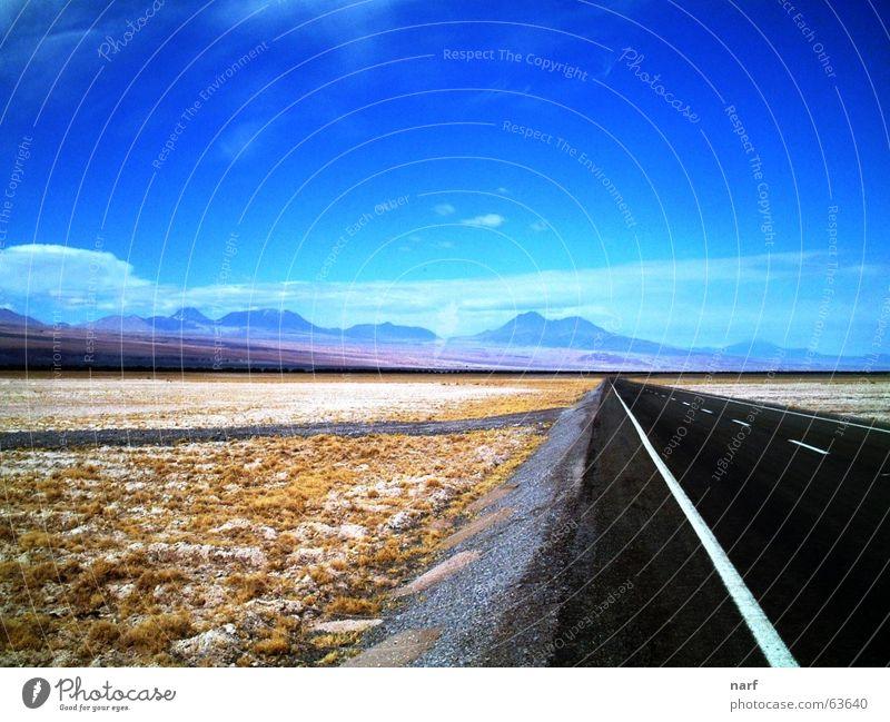 To the infinite and...beyond! Autobahn Chile Dessert Salar de Atacama