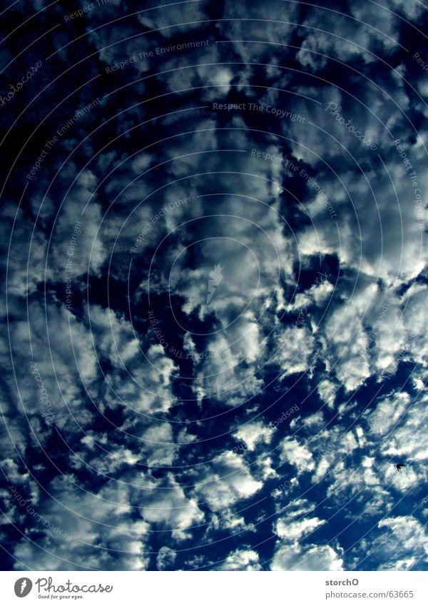 Wolkenrelief weiß blau Brennpunkt Thüringen
