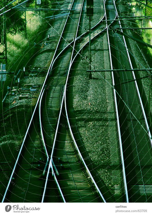 mal so richtig in Schwung kommen Kraft Eisenbahn Energiewirtschaft Güterverkehr & Logistik Gleise Kies Leistung Ausdauer Weiche Mitarbeiter Pendler Verspätung